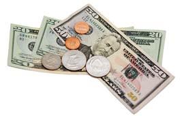 monnaie dollars